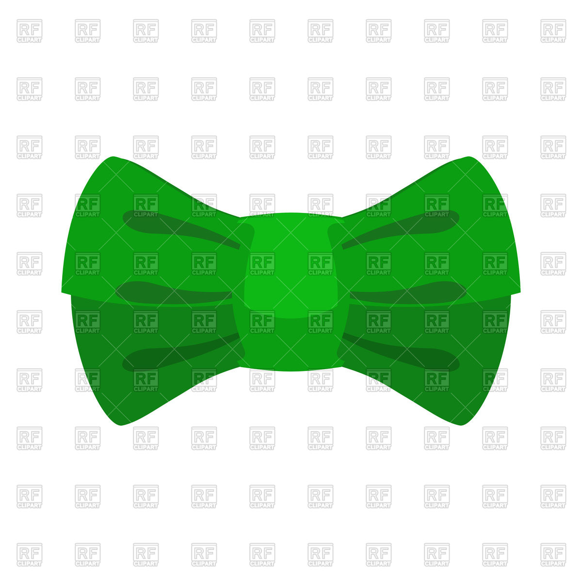 1200x1200 Leprechaun Green Bow Tie Vector Image Vector Artwork Of Objects