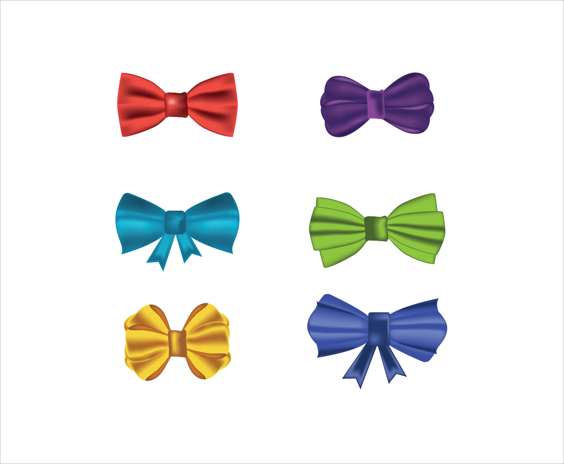 1136x936 Silk Bow Ties Vector Vector Art Amp Graphics