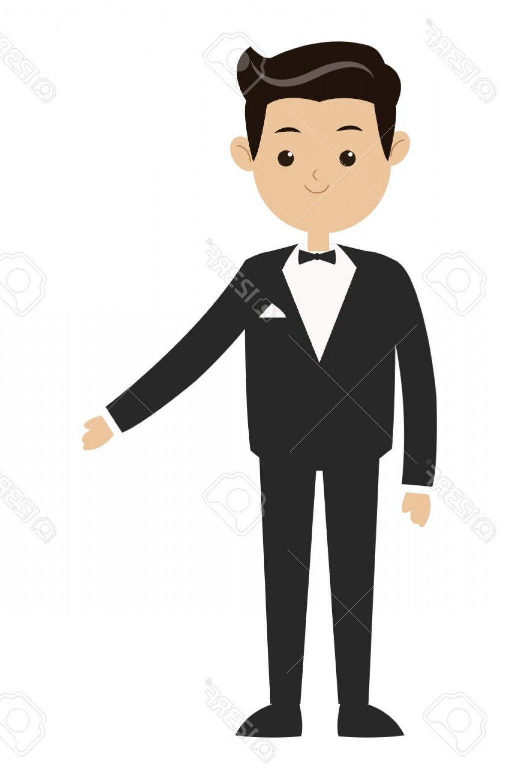 1039x1560 Bow Tie Vector Image Male Lazttweet