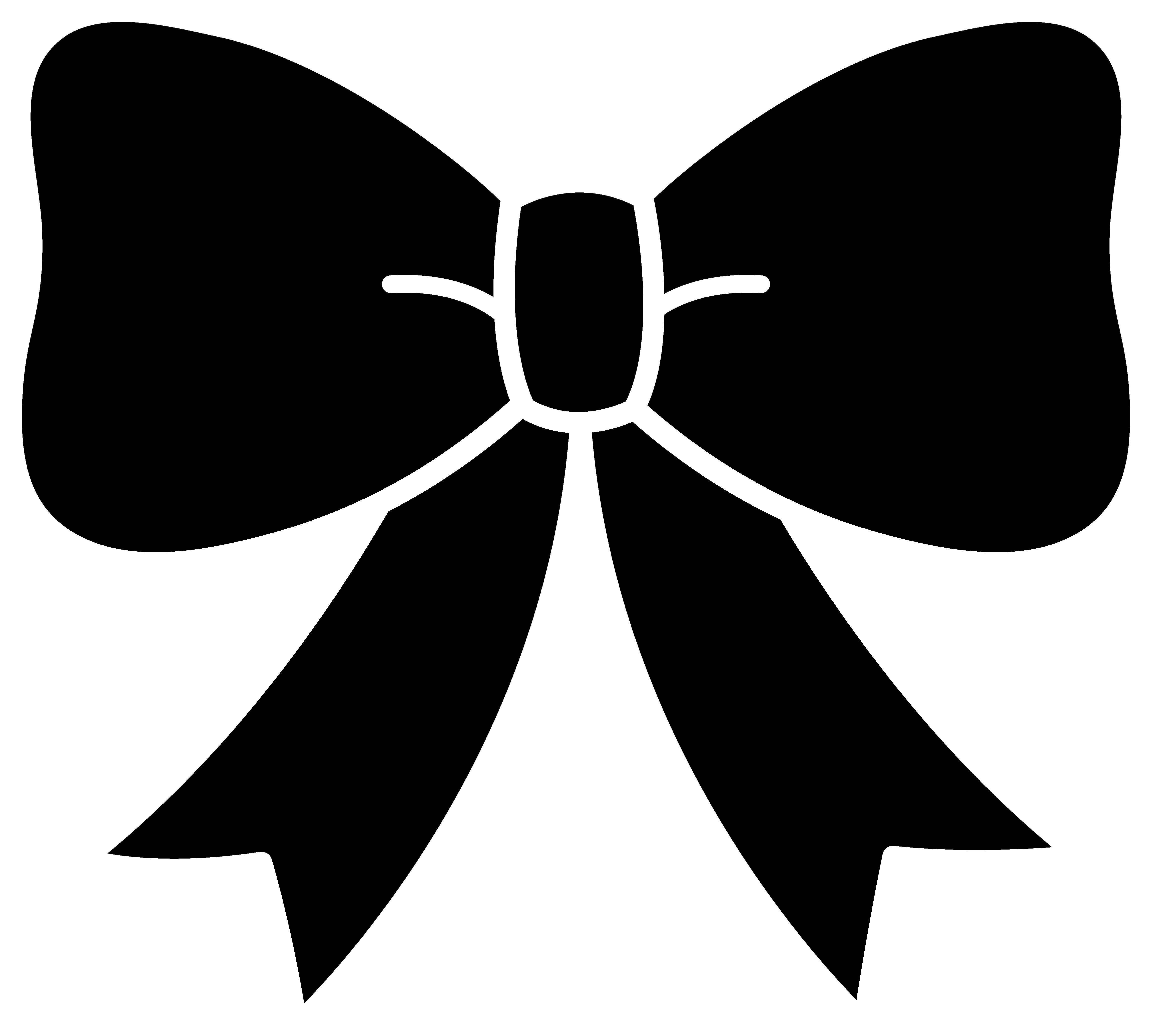 4606x4145 Bow Tie Clipart Black Ribbon