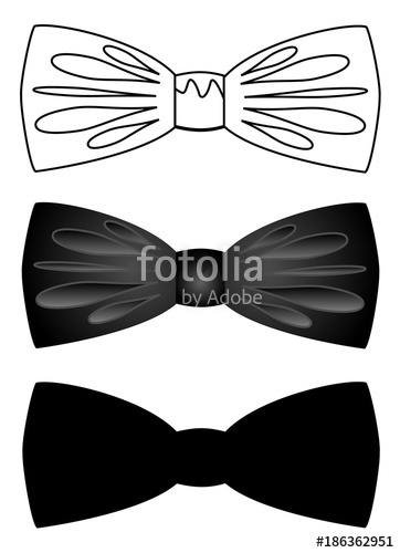 362x500 Set Of Bow Ties Vector Eps 10 Stock Image And Royalty Free Vector