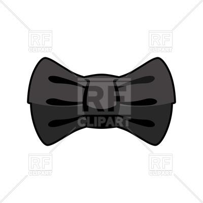 400x400 Black Bow Tie Vector Image Vector Artwork Of Signs, Symbols