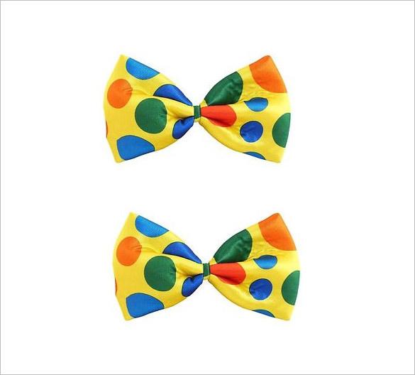 585x528 Clown Clipart Bow