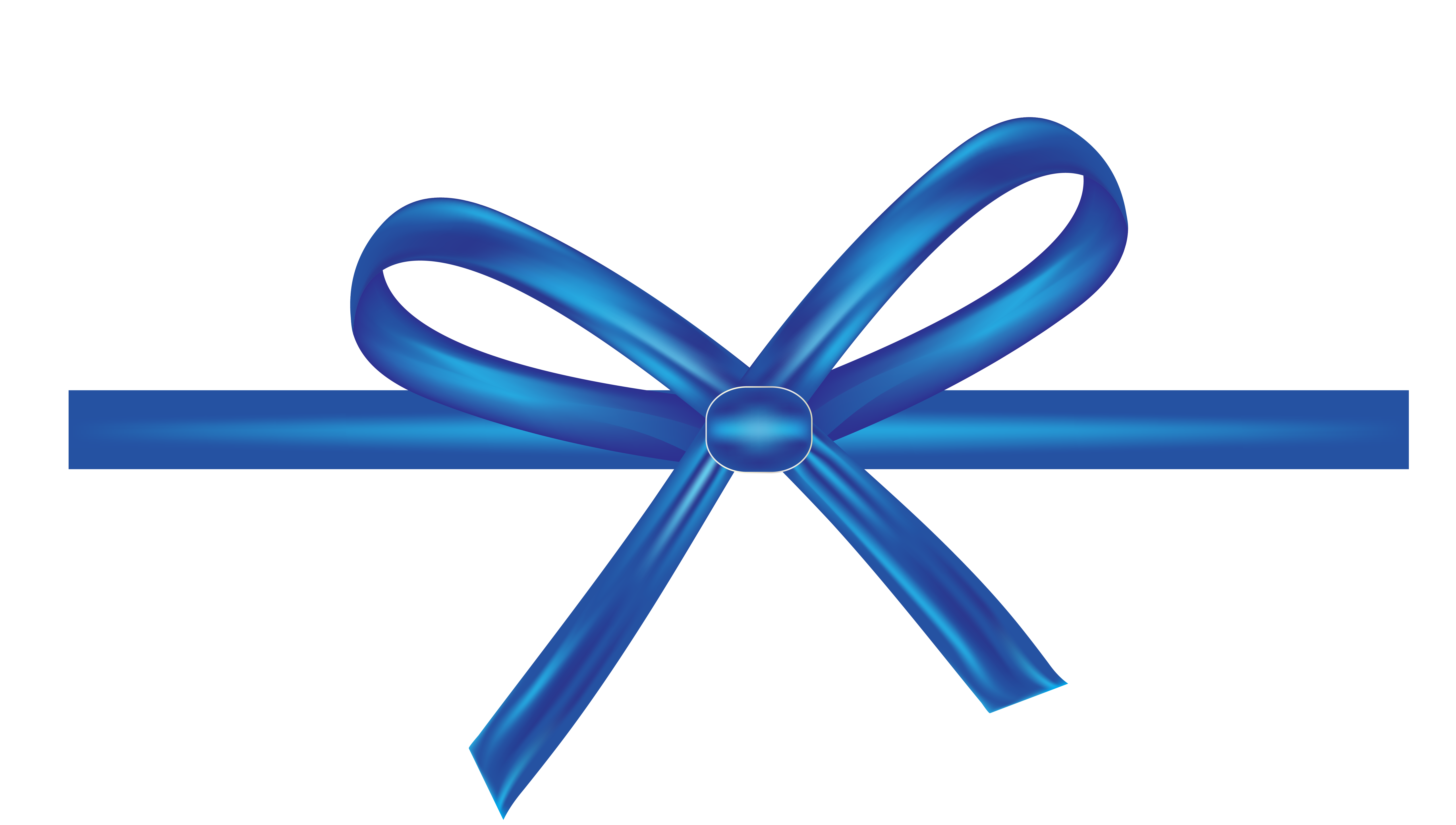 6578x3727 Shoelace Knot Blue Ribbon Bow Tie