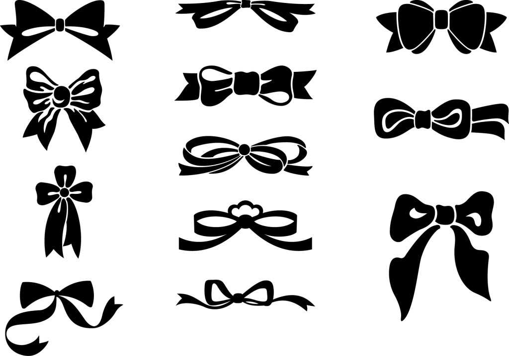 1024x718 Vector Bow Tie Vector Free Download Ai Files