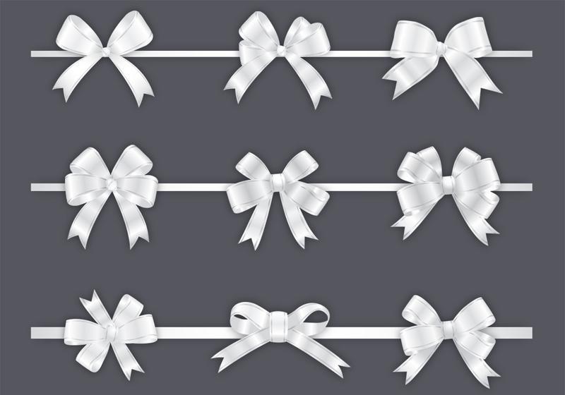 800x560 Bow Free Vector Art