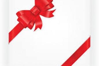 343x228 Gift Bow Vector