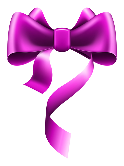 500x667 Purple Bow Vector Material Free Download