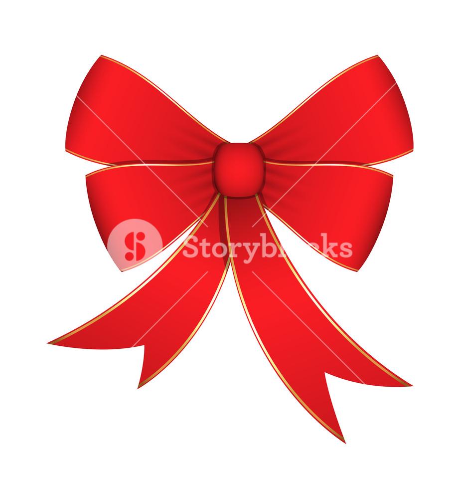 923x1000 Ribbon Bow Vector Element Royalty Free Stock Image