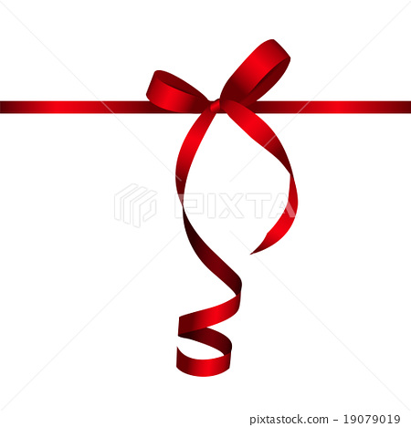 450x468 Gift Card With Red Ribbon And Bow. Vector
