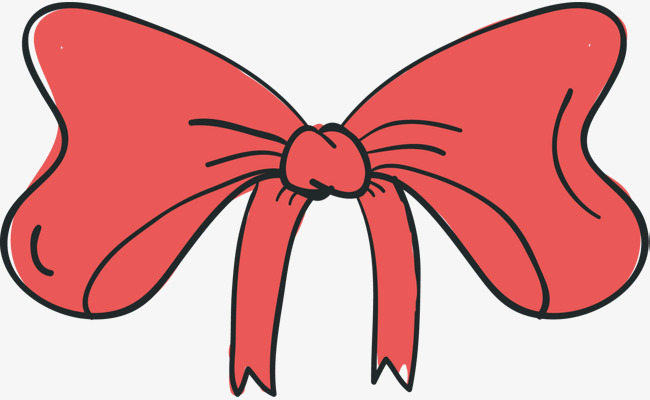 650x400 Pink Bow Vector, Bow Vector, Bow Tie, Hand Painted Png And Vector