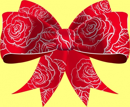 445x368 Red Bow Vector Free Vector Download (7,688 Free Vector) For