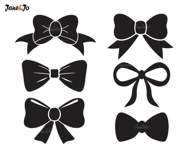 642x514 Bow Tie Svg Bow Svg File Bow Vectorbow Clipart Bow Svg Etsy