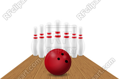 400x267 Bowling Ball And Pin Vector Image Vector Artwork Of Sport And