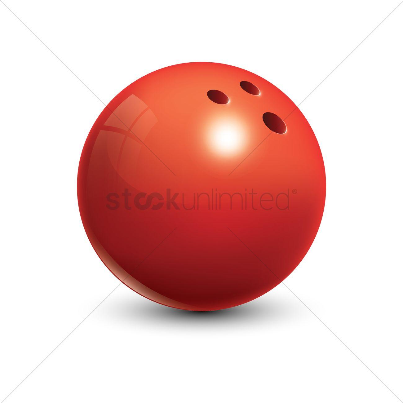 1300x1300 Bowling Ball Vector Image