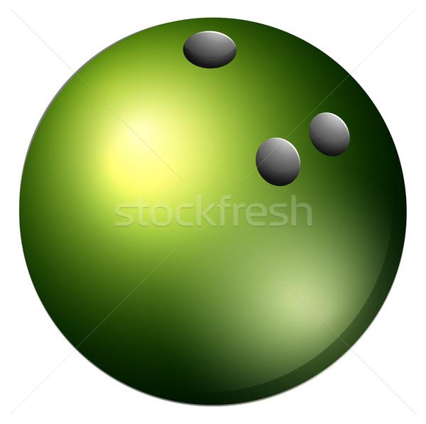 600x597 Bowling Ball Vector Illustration Daniel Cole (Bluering
