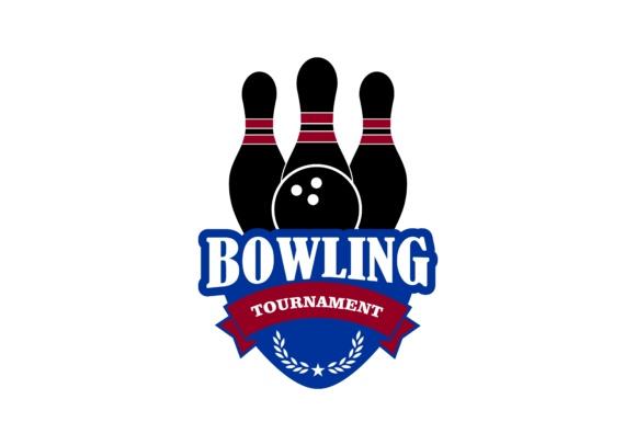 580x406 Bowling Logo Vector Graphic By Deemka Studio