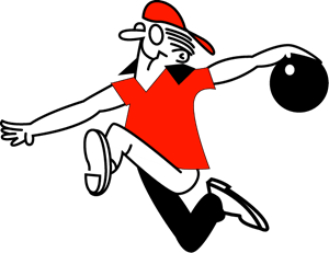 300x231 Bowling Logo Vectors Free Download