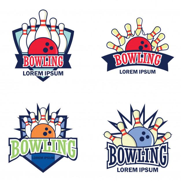 626x626 Bowling Logo Vector Premium Download