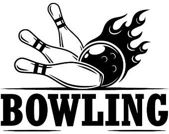 340x270 Bowling Logo Svg Etsy