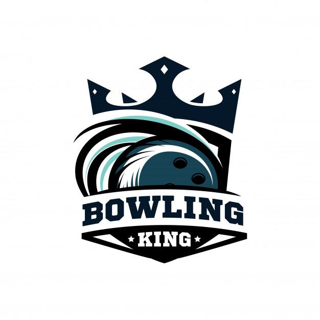 626x626 King Bowling Logo Vector Premium Download
