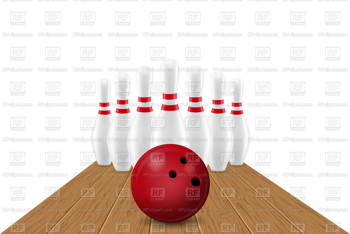 1200x801 Bowling Ball And Pin Vector Image Vector Artwork Of Sport And