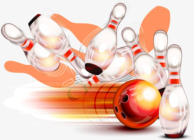 650x470 Vector Bowling, Bowling Vector, Bowling, Knocked Over Png And