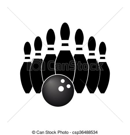 450x470 Vector Of Bowling.
