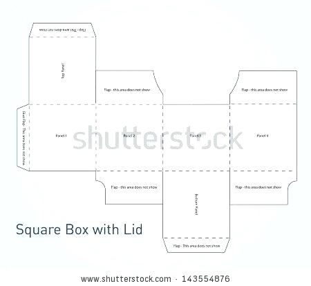 Box Template Vector at GetDrawings.com | Free for personal ...