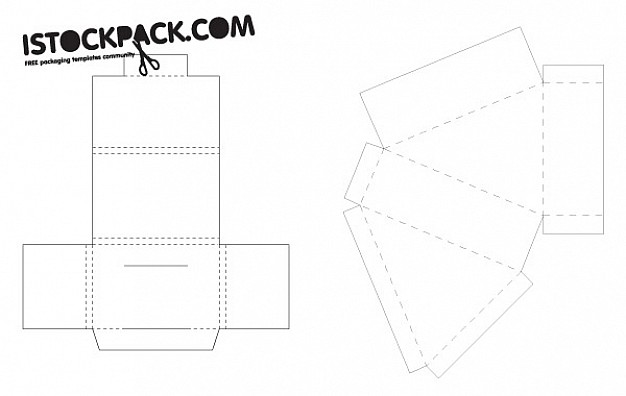 Box Template Vector At Getdrawings Com Free For Personal Use Box