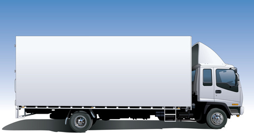 500x261 Truck Vector Free Vector Download (489 Free Vector) For Commercial