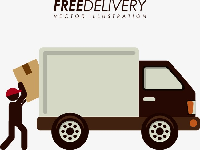 650x486 Vector Take Box Truck, Truck Clipart, Truck, Box Png And Vector