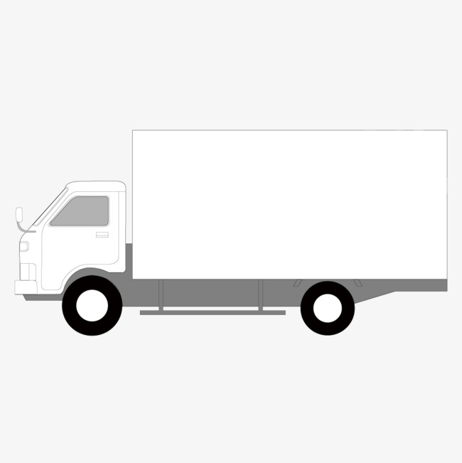 650x651 White Van, White, Box, Truck Png And Vector For Free Download