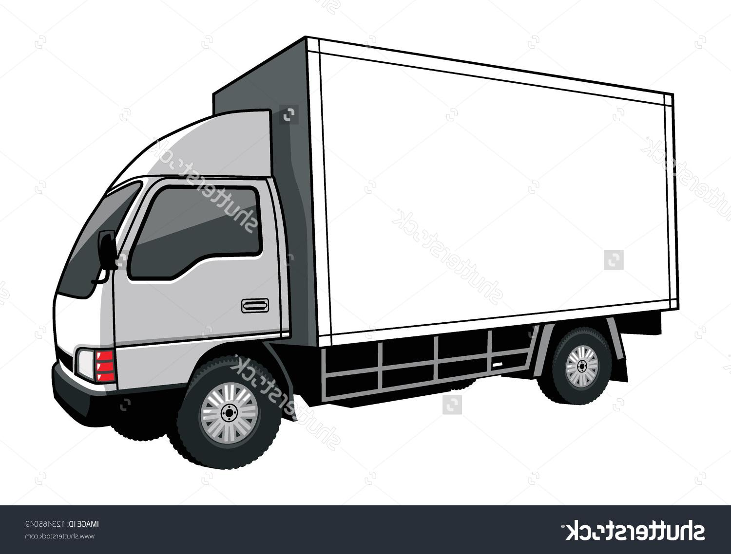 1500x1138 Collection Of Box Truck Drawing High Quality, Free Cliparts