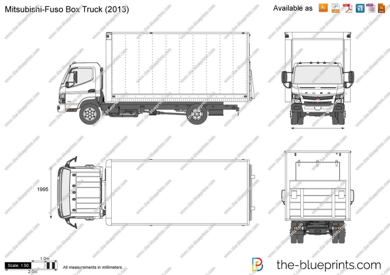 Box Truck Vector At Free For Personal Use Mitsubishi Industrial Schematics 1280x905 Drawing Fuso
