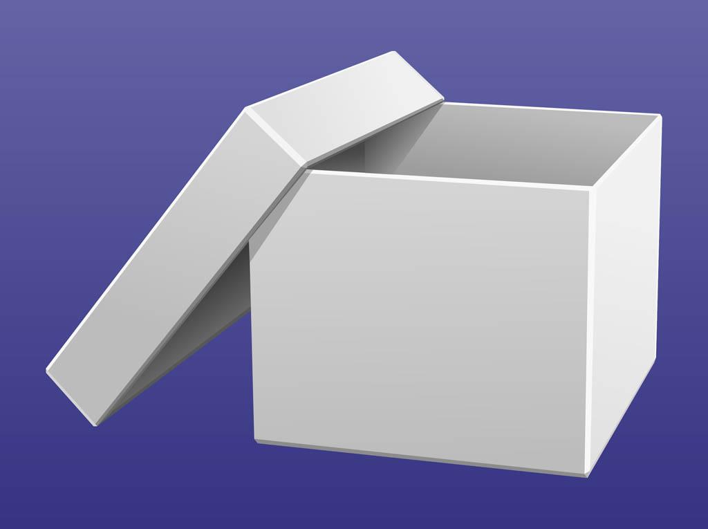 1024x765 White Cardboard Box Vector Art Amp Graphics