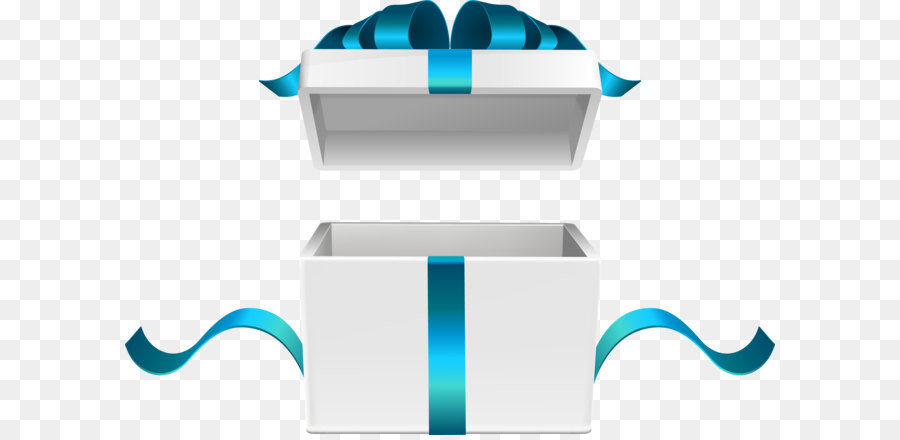 900x440 White Gift Box Vector Png Download
