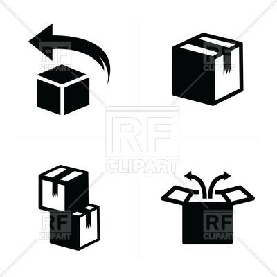 400x400 Box Icons Set