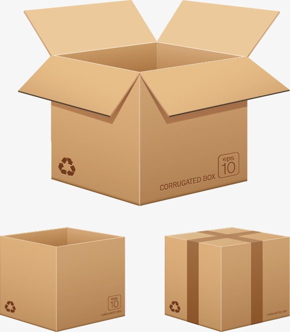 581x665 Carton Box Vector, Carton, Tray, Package Png And Vector For Free