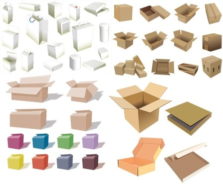 445x368 Box Free Vector Download (3,080 Free Vector) For Commercial Use