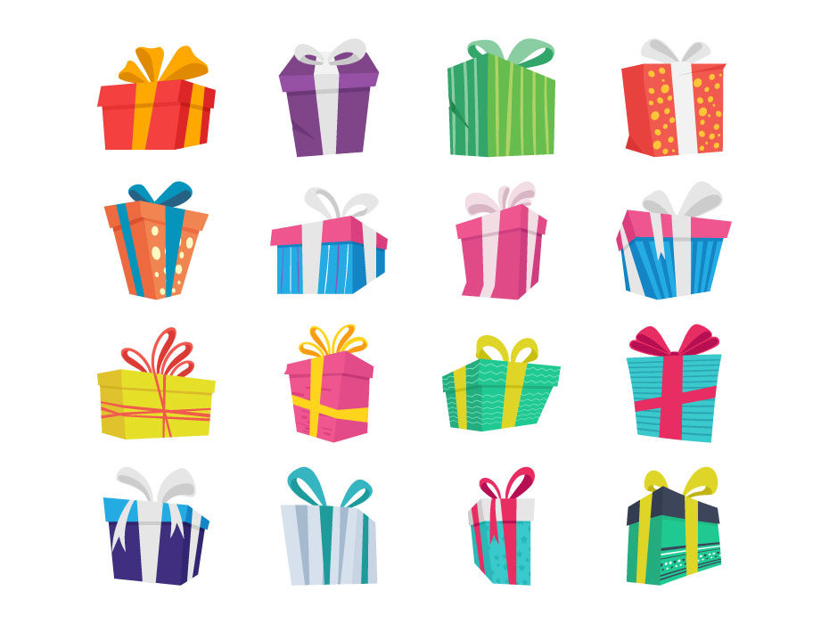 930x700 Decorative Gift Boxes Vector Free Download Frebers