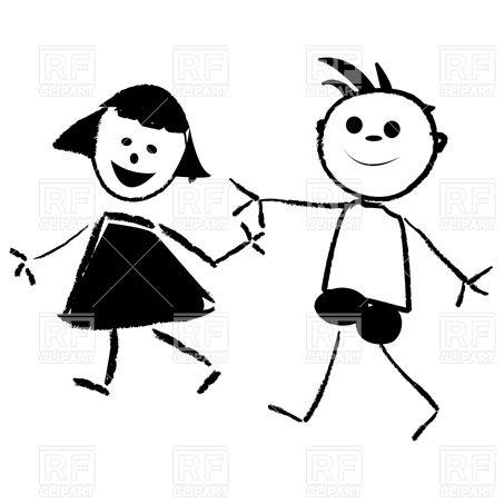 453x453 Cartoon Funny Kids Sketch