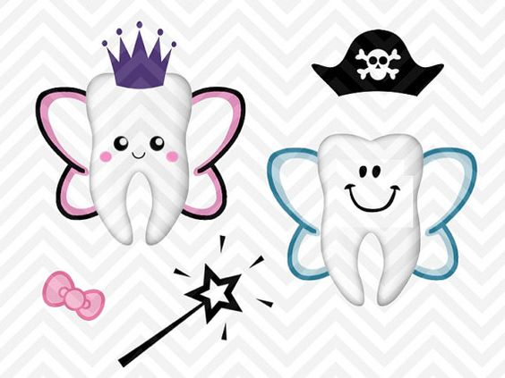 564x423 Tooth Fairy Bag Kit Boy Girl Cute Svg And Dxf Cut File Png