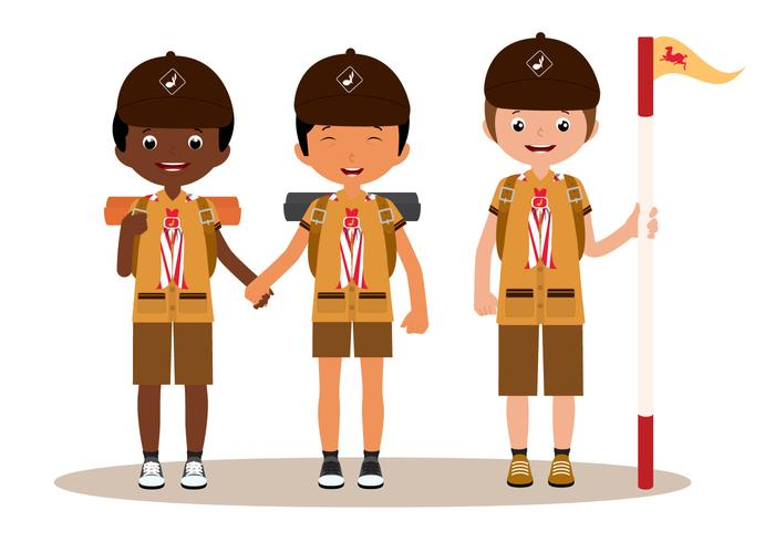 700x490 Scout Free Vector Art