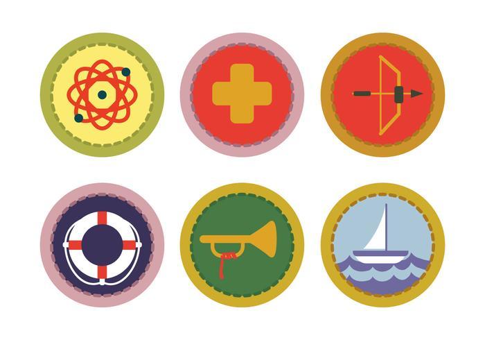 700x490 Boy Scout Badge Vector