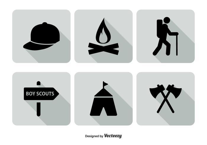 700x490 Boy Scout Icon Set