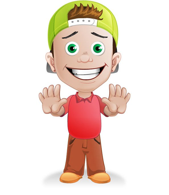 594x685 Free Boy Vector Character With A Hat Psd Files, Vectors Amp Graphics
