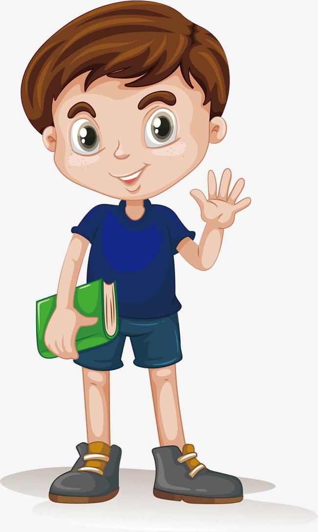 650x1088 Vector To Take The Book Boy, Book Vector, Boy Vector, Character