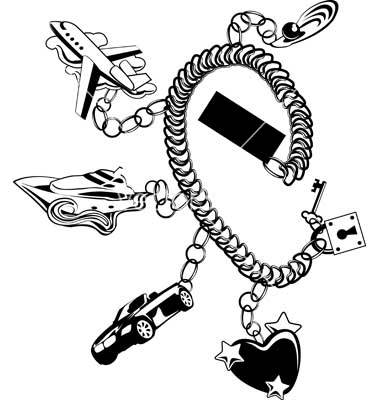 380x400 Bracelet Wire Galleries Bracelet Vector