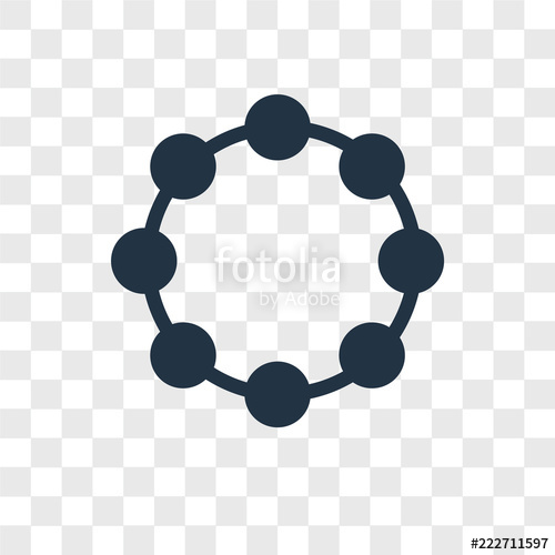 500x500 Bracelet Vector Icon Isolated On Transparent Background, Bracelet